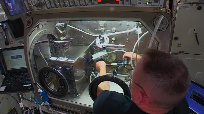 Stampanti 3D nello spazio
